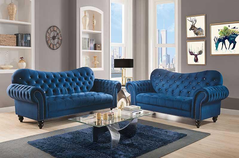 Details about NEW Modern Design Living Room Furniture Green Velvet Sofa  Couch Loveseat Set RA4