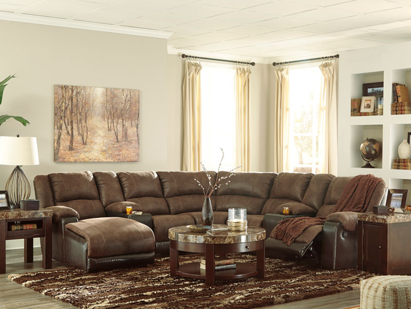 Miraculous Details About Brea 7Pcs Sectional Living Room Couch Set Brown Microfiber Reclining Sofa Chaise Beatyapartments Chair Design Images Beatyapartmentscom