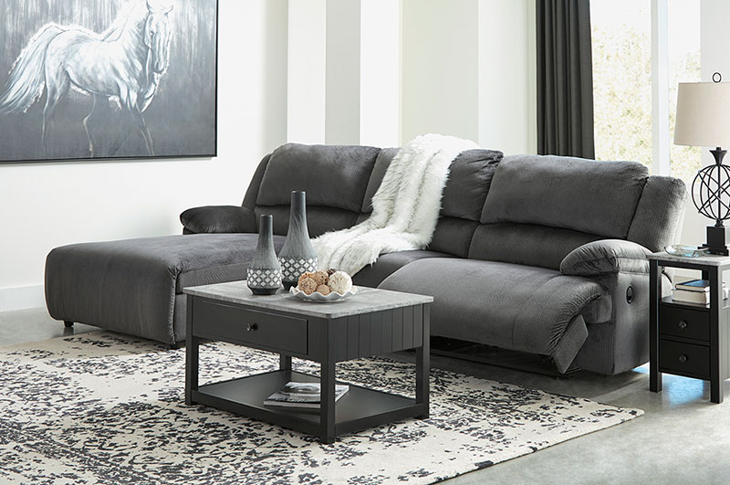Superb Details About Modern Sectional Living Room Couch Set Gray Fabric Reclining Sofa Chaise If2D Camellatalisay Diy Chair Ideas Camellatalisaycom