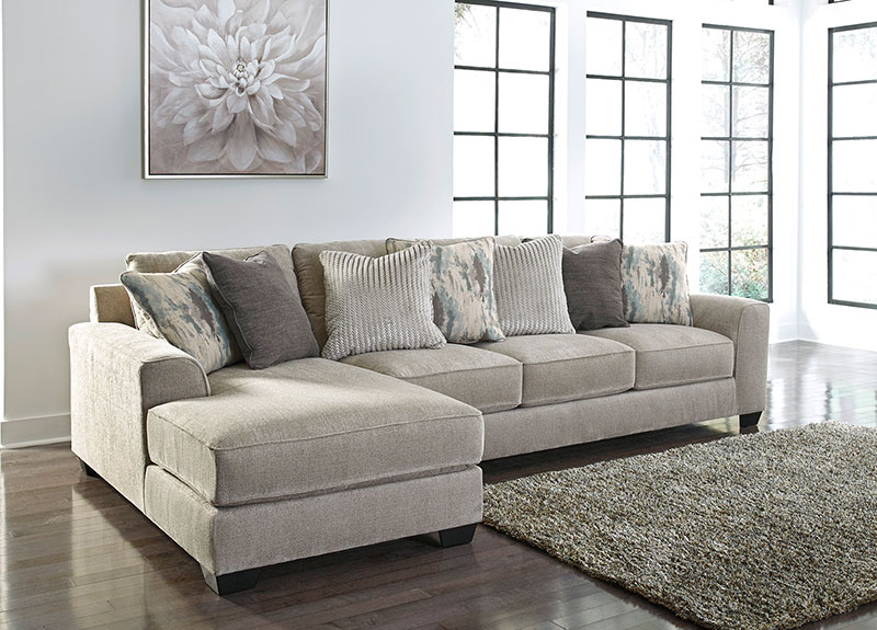 New Contemporary Sectional Living Room