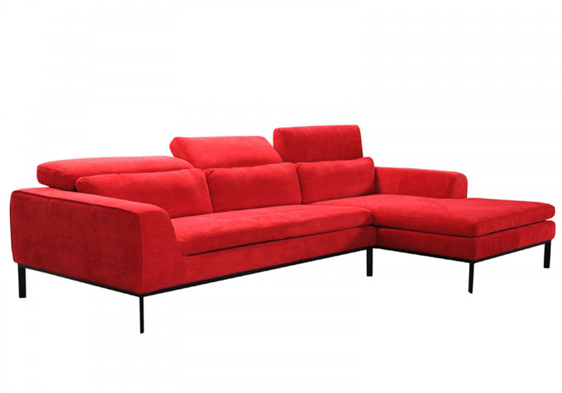 Cool Details About New Sectional Living Family Room Furniture Red Fabric Sofa Couch Chaise Set Irv5 Short Links Chair Design For Home Short Linksinfo